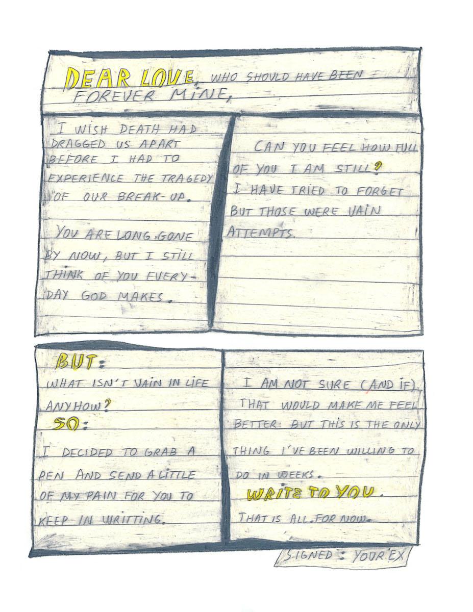 H MJ0233 Dear love